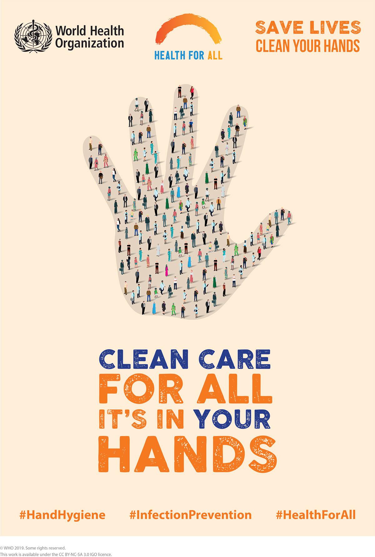 5 maja 2019 - Światowy Dzień Higieny Rąk